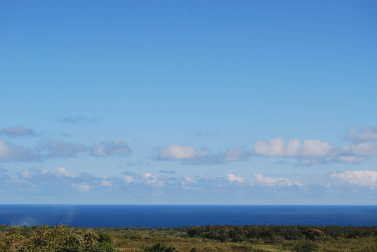 blue sky dry earth puna